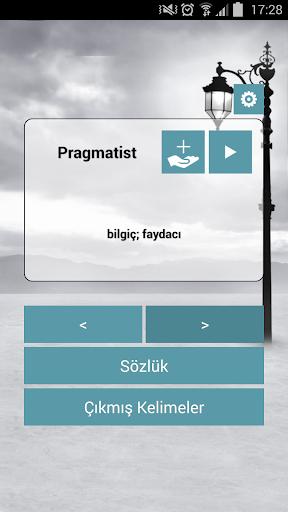 English Turkish Flash Card