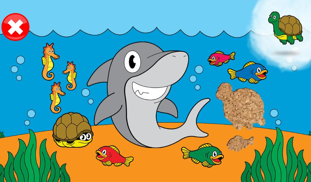 Animal Games for Kids Puzzles - screenshot