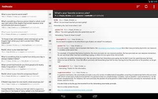 Screenshot of RedReader Beta