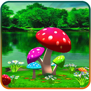 3d mushroom live wallpaper new android apps on google play - Mushroom 3d wallpaper free download ...