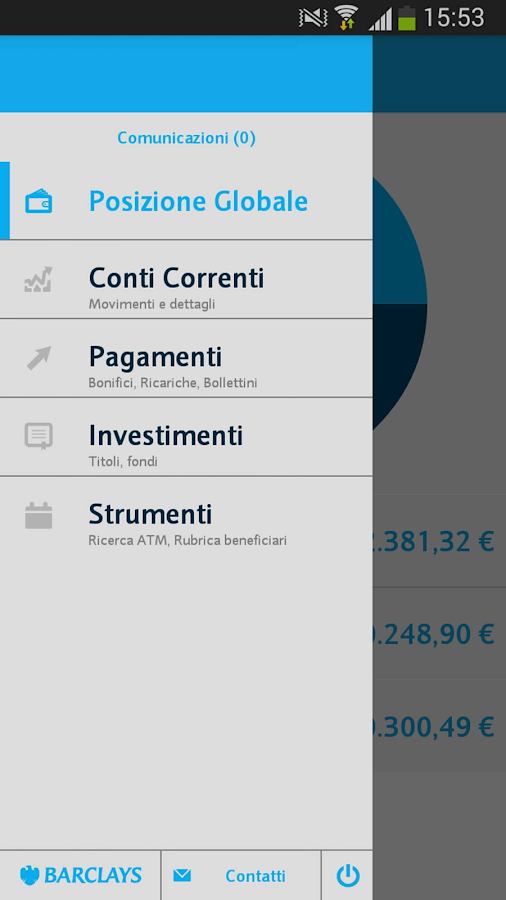 Barclays Italy - screenshot