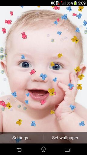 Cute Baby 3d Live Wallpaper