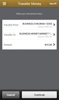 Screenshot of BNY Mellon Business Banking