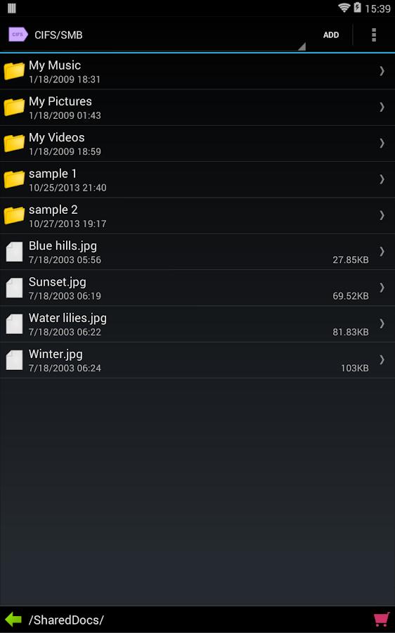 FolderTag for CIFS/SMB - screenshot