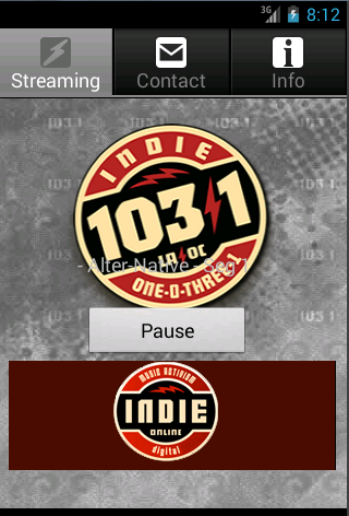 Indie 103.1- screenshot