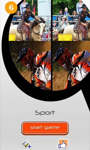 Find Differences 6 - Sport