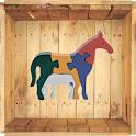 Wooden Jigsaw - animals