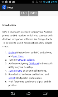 GPS 2 Bluetooth v.4 - screenshot thumbnail