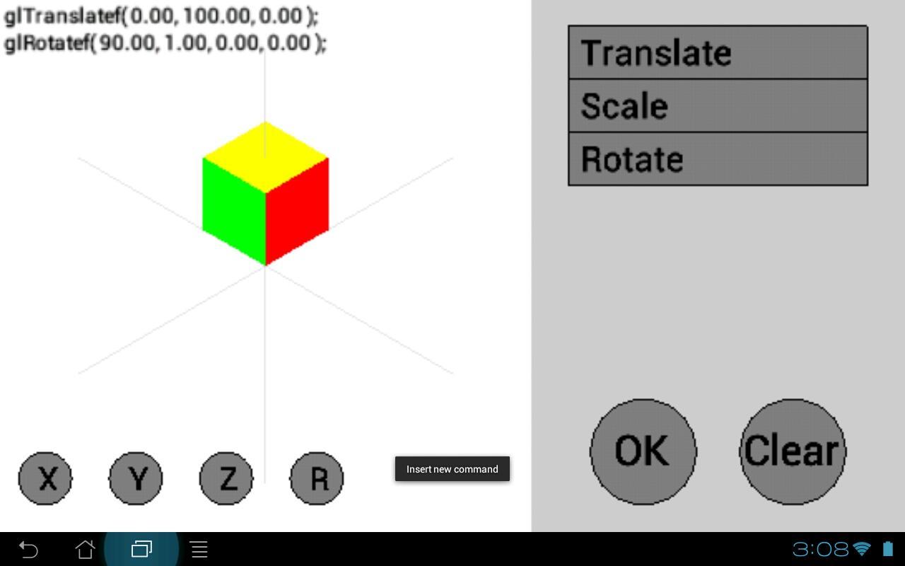 OpenGL Tutorial - screenshot