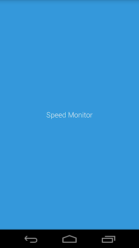 Speed Monitor
