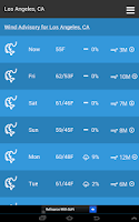 Screenshot of Fishing Weather
