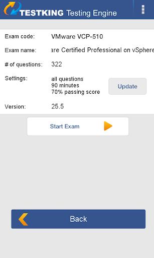 VMware VCP-510 Exam