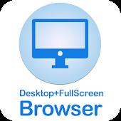 Full Screen Desktop Browser