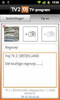 Screenshot of TV2 oj