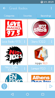 Screenshot of Greek Radios