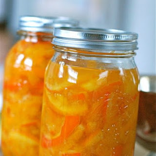 Simple Orange-Ginger Marmalade Recipe