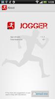 Screenshot of Jogger - running log