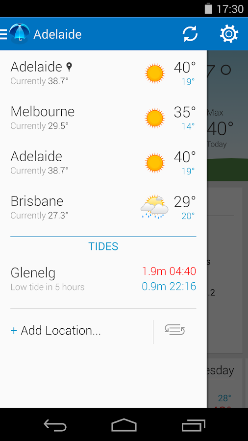 Pocket Weather Australia- screenshot