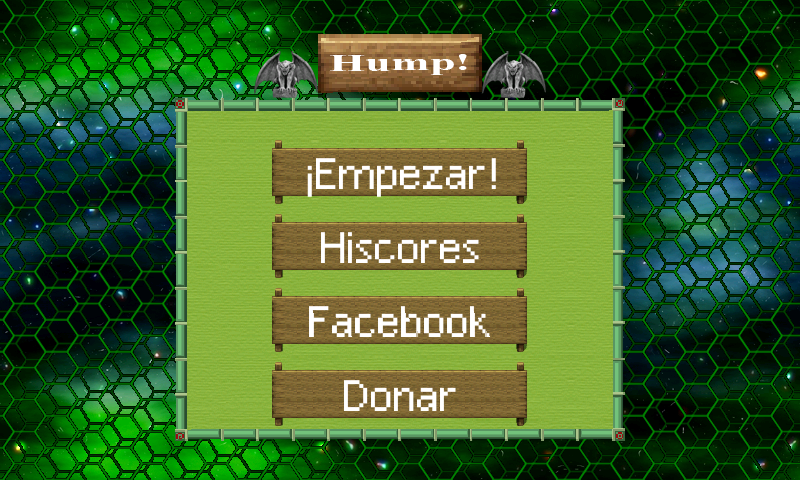 TheHump! Retro game- screenshot