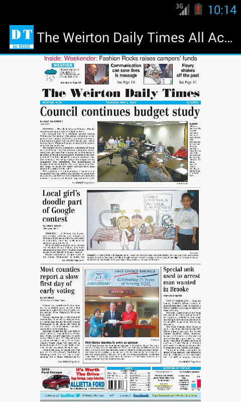The Weirton Daily Times- screenshot
