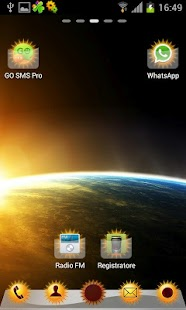 Sun Theme HD GO/NOVA Launcher - screenshot thumbnail