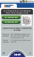 Screenshot of Contactor Select
