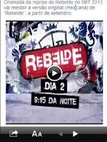 Screenshot of Rebelde - Novela  SBT
