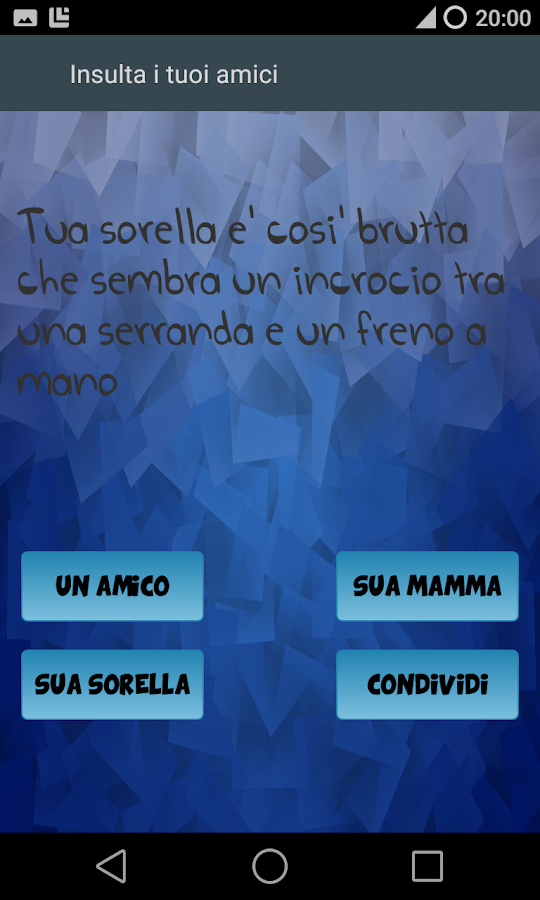 Insulta I Tuoi Amici - Android Apps on Google Play