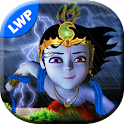 Lord Krishna Lightening LWP icon