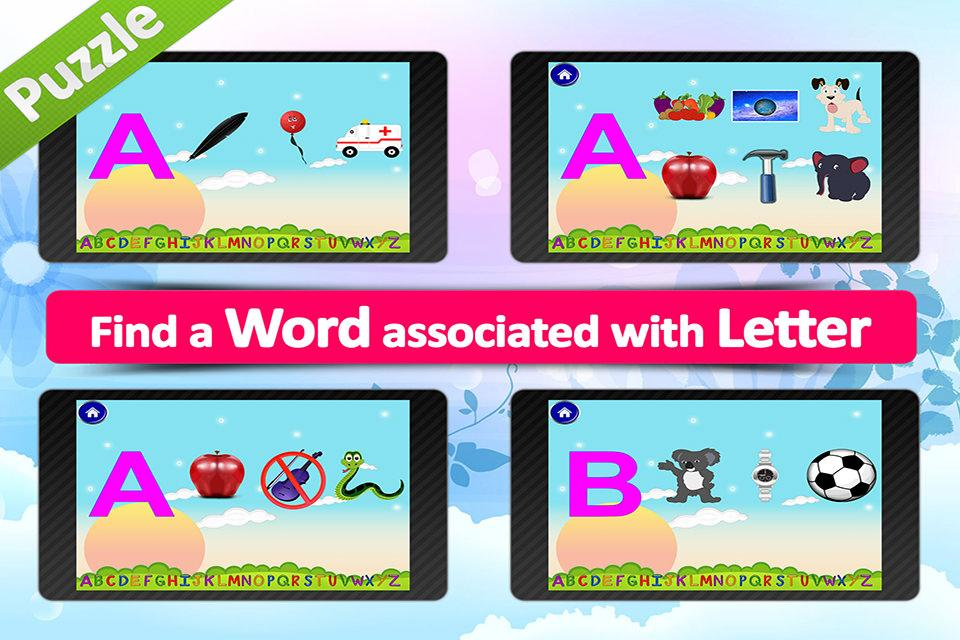 Animated alphabet for kids,ABC- screenshot