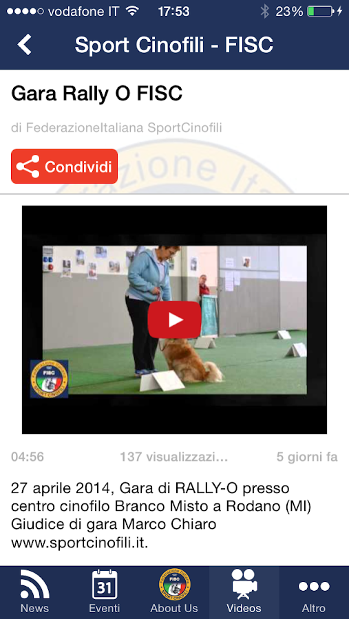 Sport Cinofili- screenshot