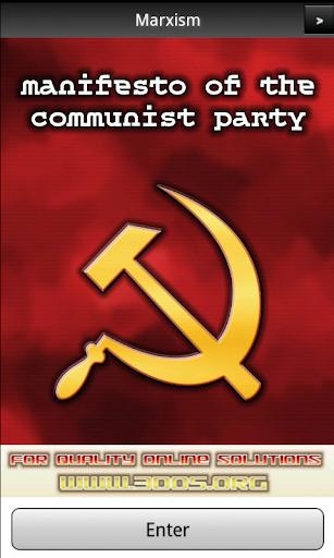 Marx Communist Manifesto FREE