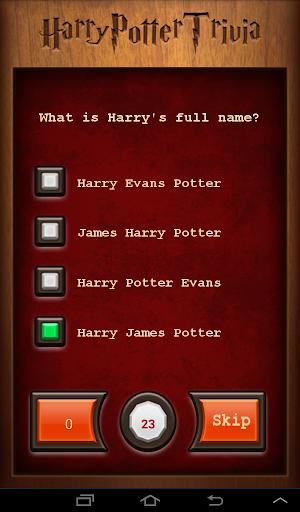 Trivia Quiz: Harry Potter