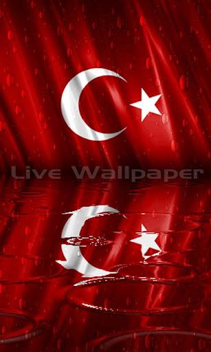 Turk Bayragi Raindrop
