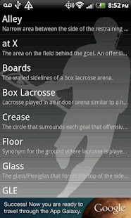 Lacrosse Dictionary - screenshot thumbnail