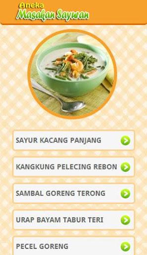Aneka Masakan Sayuran