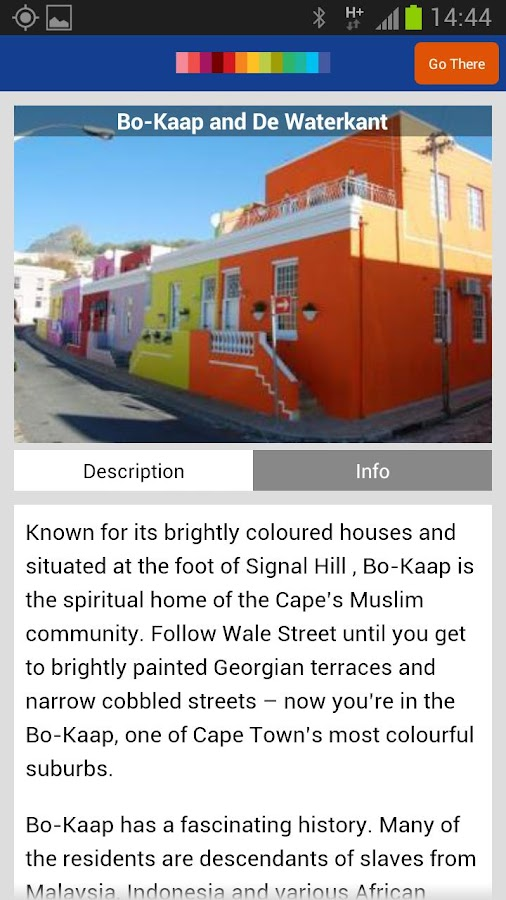 A Walking Tour of Cape Town - screenshot