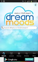 Screenshot of Dream Moods Dream Dictionary