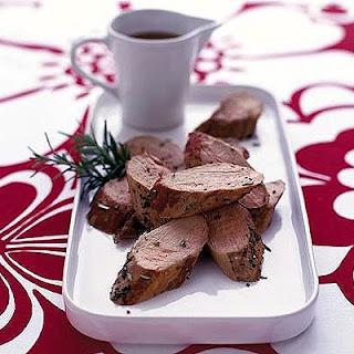 Roast Pork With Fruity Sauce