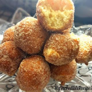 Cinnamon Sugar Doughnut Holes – BITE SIZE.