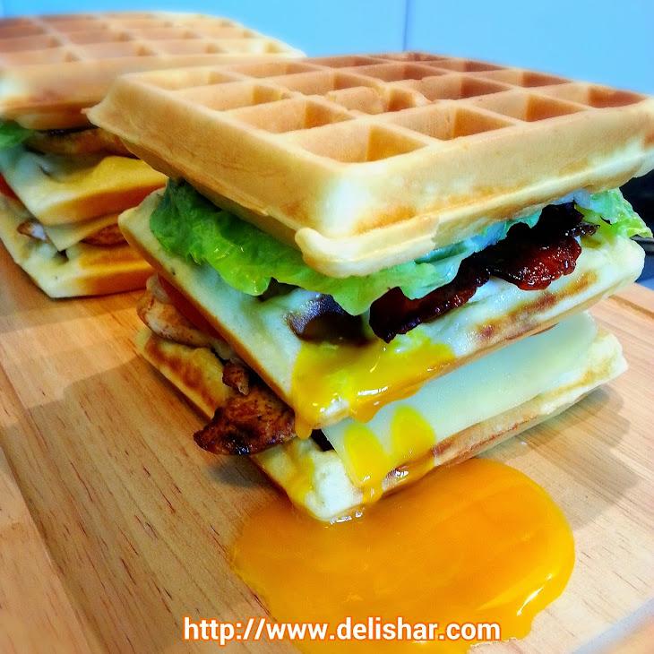 Waffle Club Sandwich Recipe