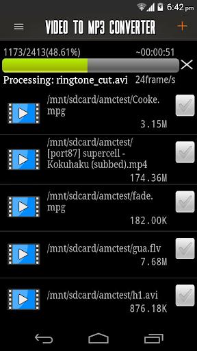 玩媒體與影片App|MP3 轉換器視頻 !免費|APP試玩