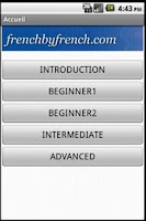 Screenshot of Frenchbyfrench - Beginner1