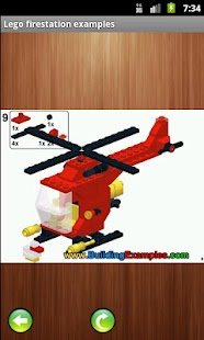 Lego fire station instructions - screenshot thumbnail