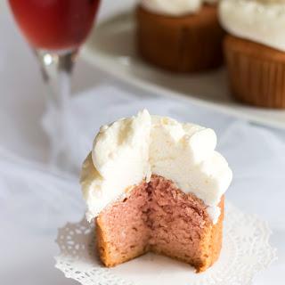 Rosé Champagne Cupcakes.