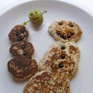 Chia Seed and Buckwheat Pancakes.