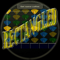 Rectangled gem game logo