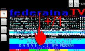 Screenshot of FTV Teletekst