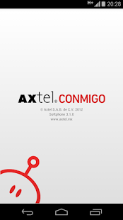 AXTEL Conmigo- screenshot thumbnail