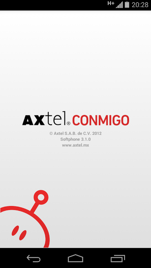 AXTEL Softphone - screenshot